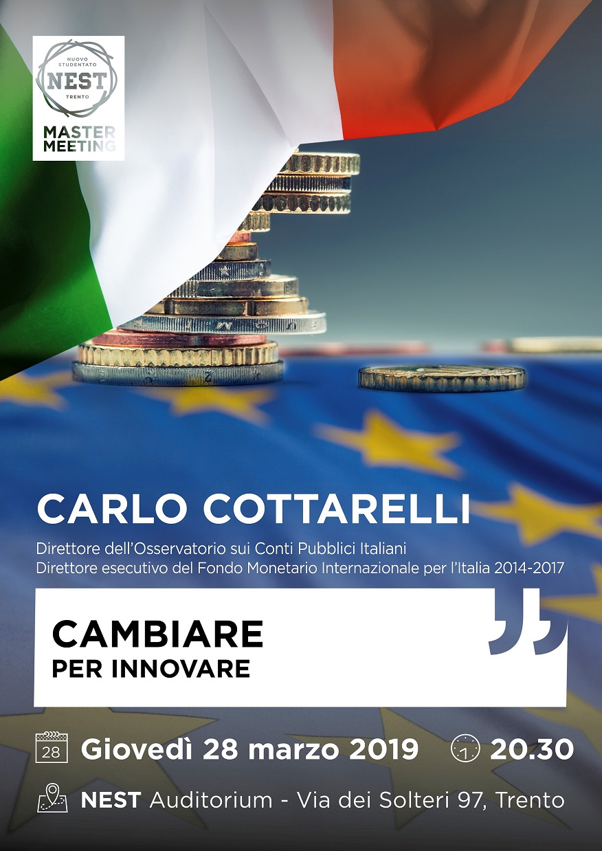 Master Meeting - CARLO COTTARELLI
